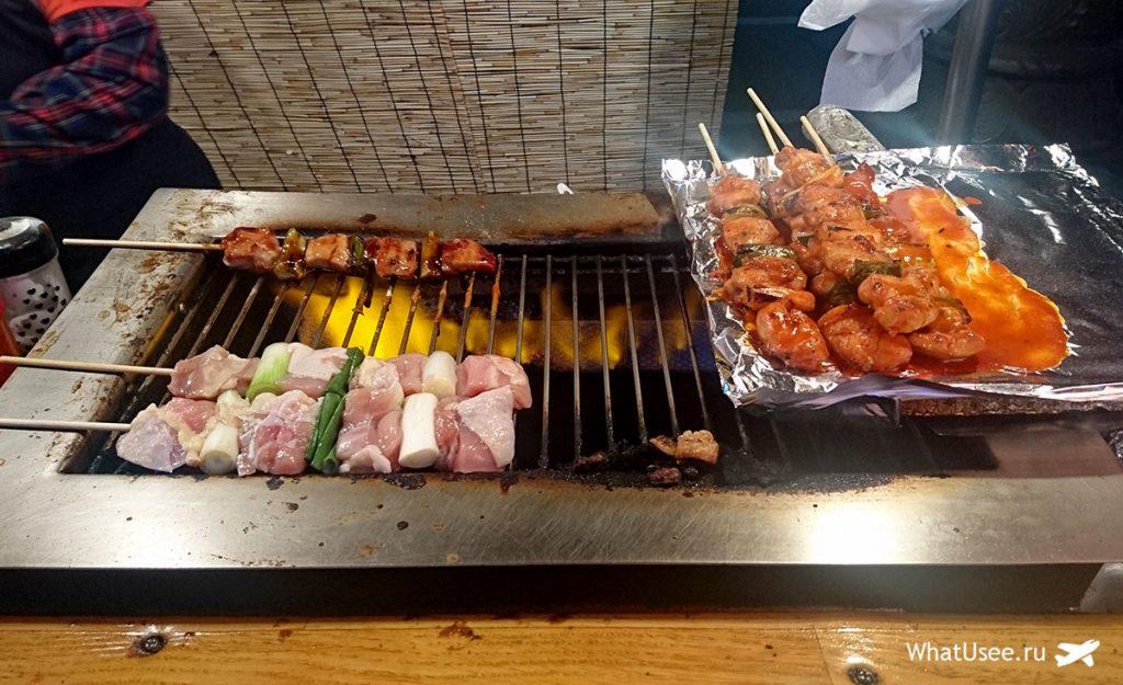 Уличная еда в Сеуле и Южной Корее