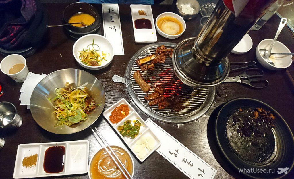 Пробуем корейскую кухню