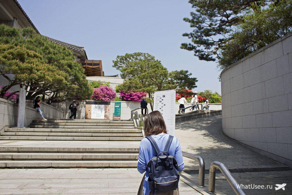 Дворец Кёнбоккун как добраться