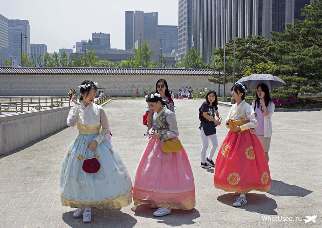 Как добраться до дворца Кёнбоккун