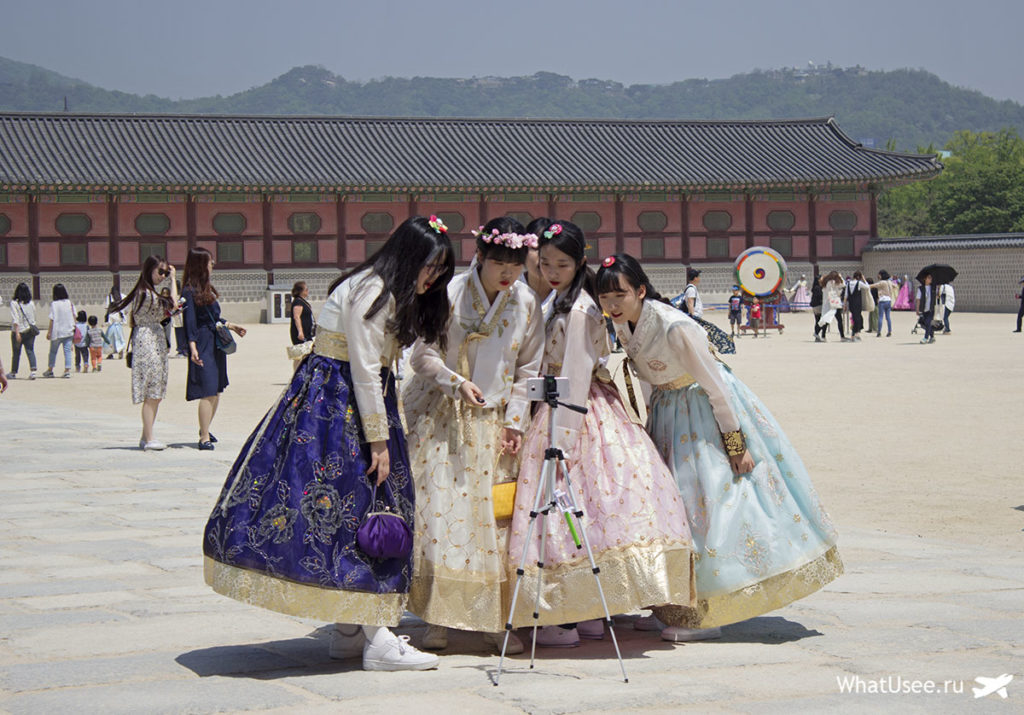 Корейский костюм ханбок