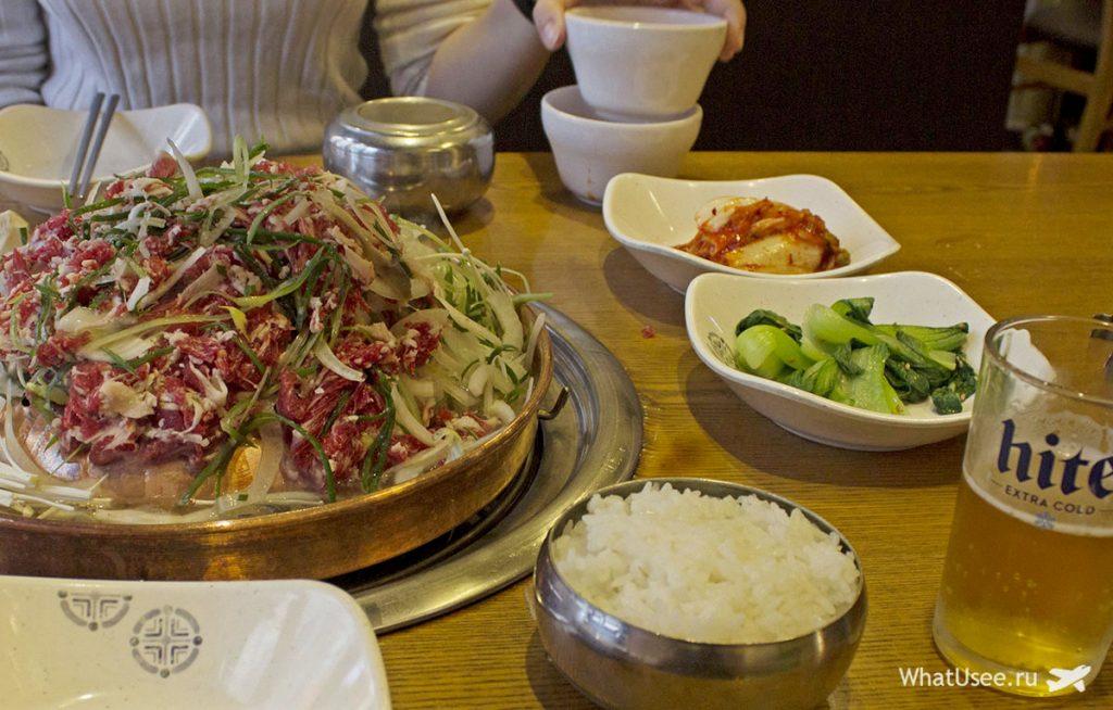 Корейская кухня в Сеуле