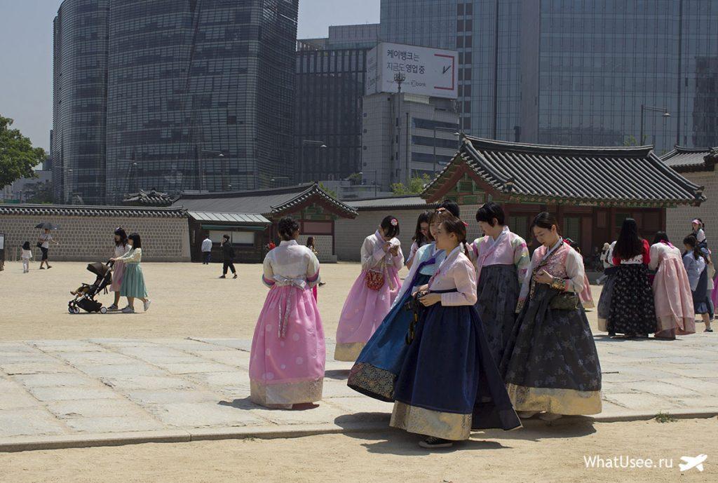 Корейский традиционный костюм ханбок