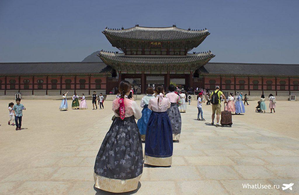 Дворец Кенбоккун и ханбок