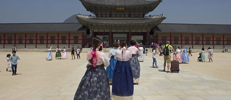Дворец Кёнбоккун в Сеуле