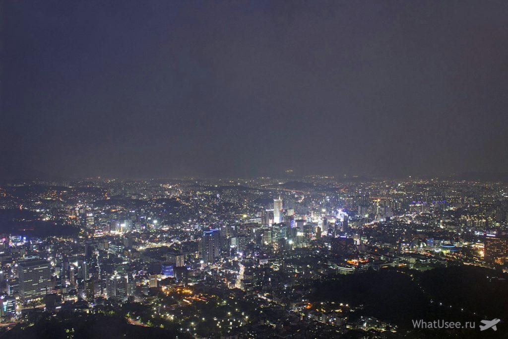 Сеульская телебашня Намсан