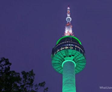 Сеульская башня N на горе Намсан