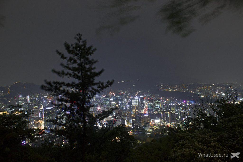 Смотровая площадка на Сеульской башне Намсан