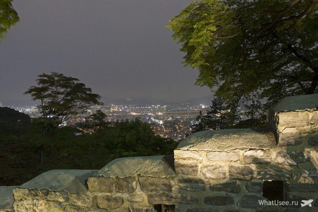Гора Намсан в Сеуле