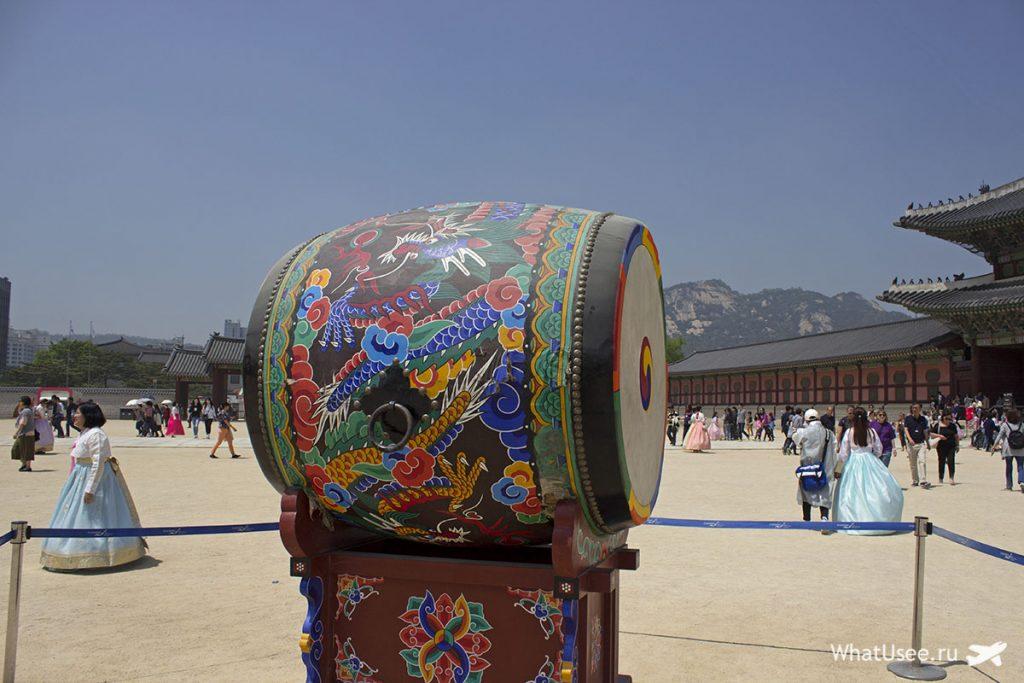 Как добраться до дворца Кёнбоккун в Сеуле
