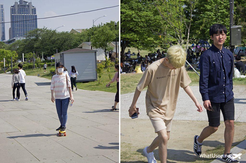 Корейская молодёжь в Сеуле