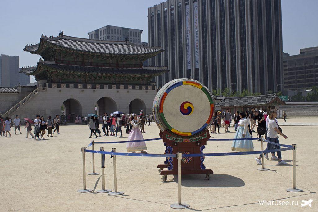 Дворца Кёнбоккун республика Корея