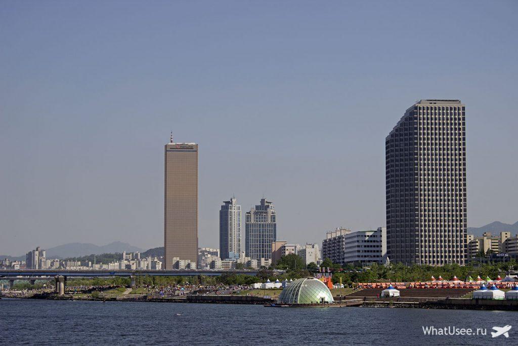 Круиз по реке Ханган в Сеуле
