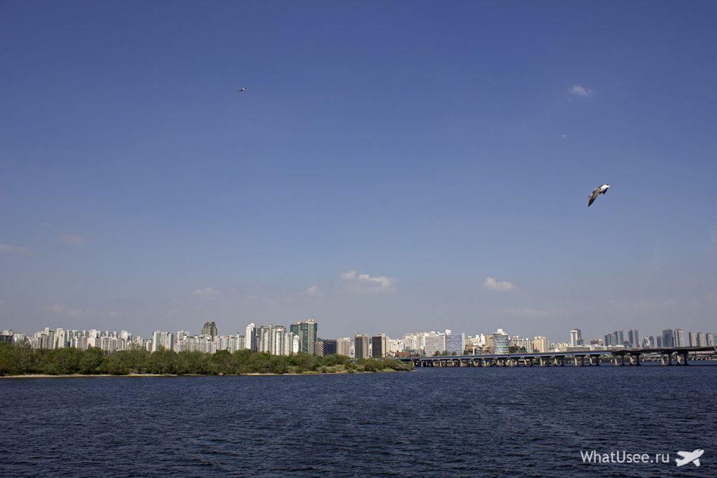 Круиз по реке в Сеуле