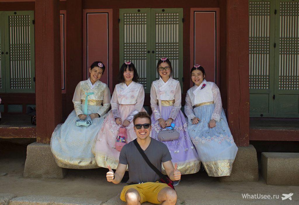 Традиционные корейские костюмы