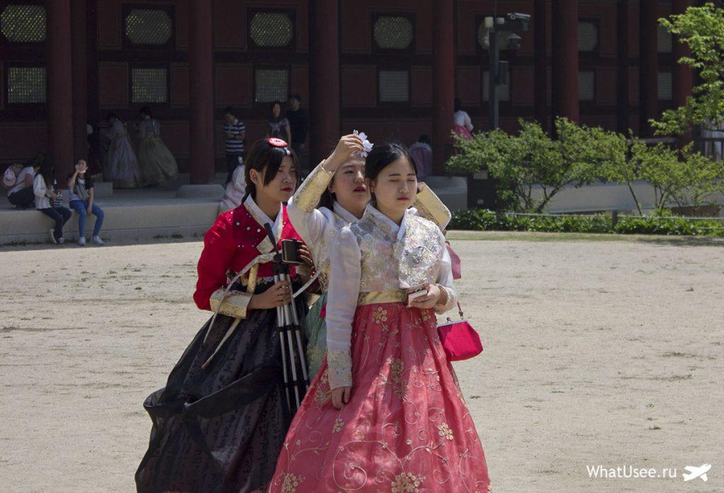 Ханбок напрокат в Сеуле