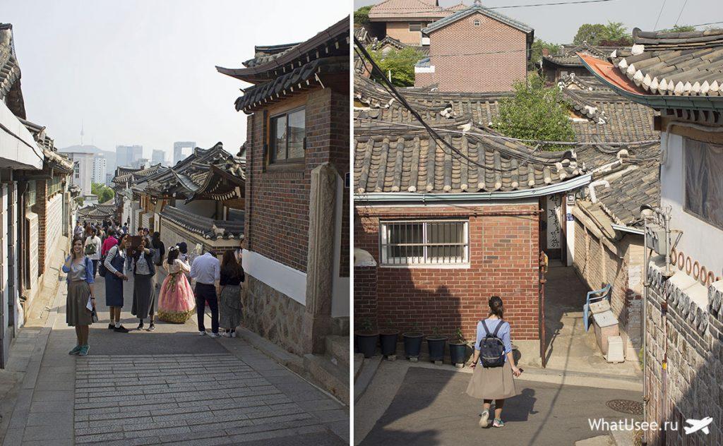 Сеул и традиционная деревня Букчон