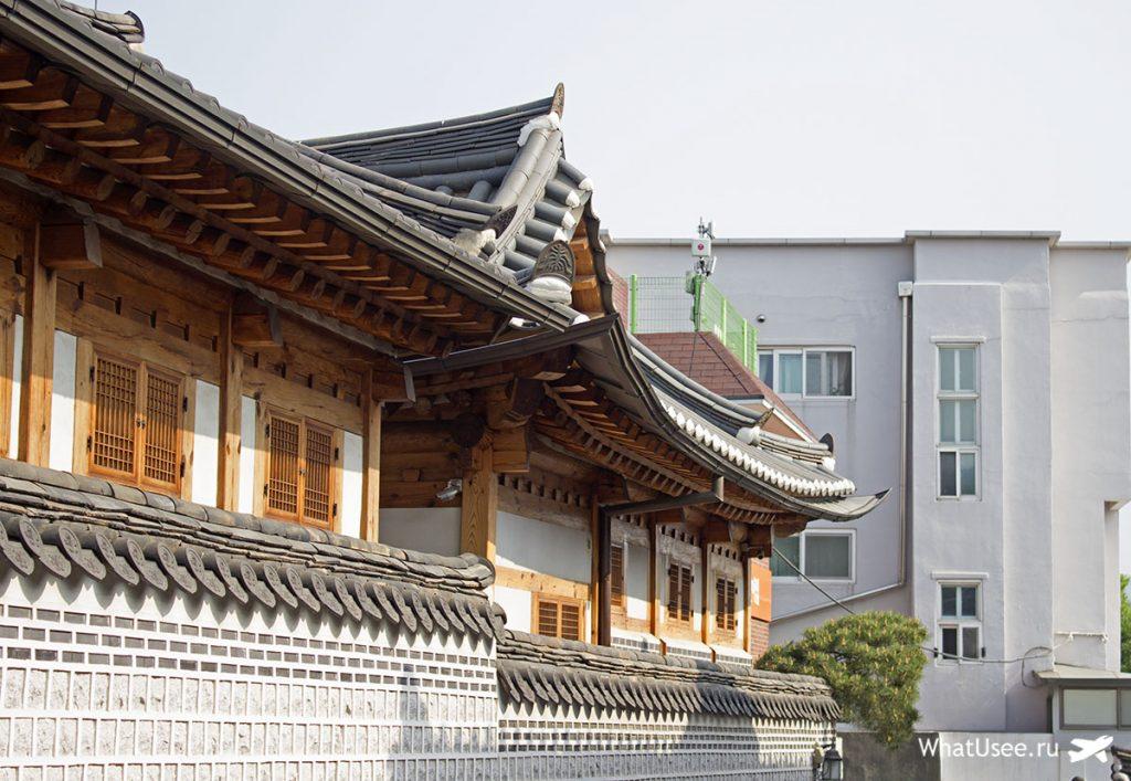 Деревня ханок в Сеуле