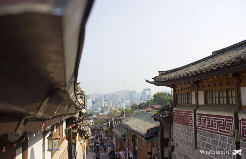 Ханок в Сеуле