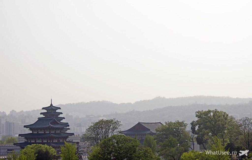 Посещение деревни Бучон в Сеуле