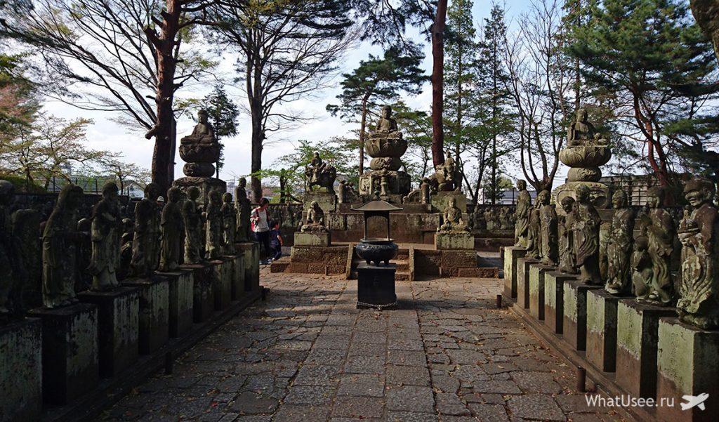 Достопримечательности в Кавагоэ