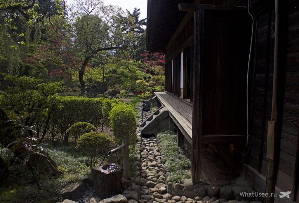 В храме Китаин в Кавагоэ