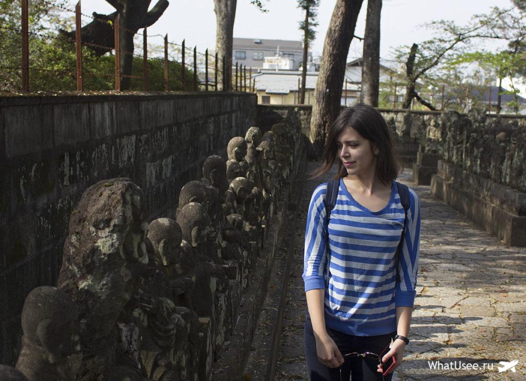 Сад пятисот раканов в Кавагоэ