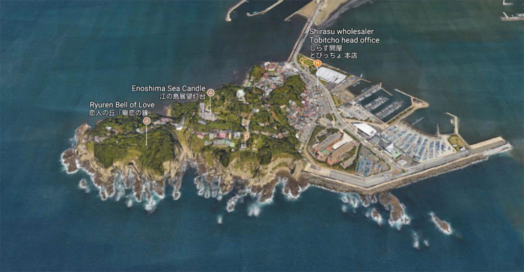 Остров Эносима в Японии