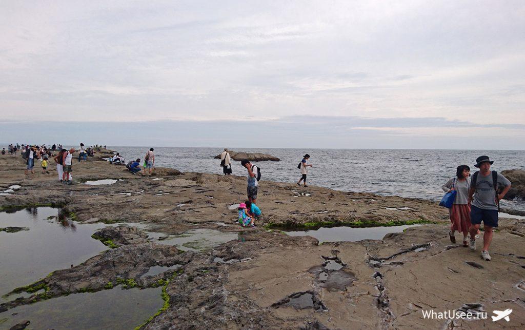 Скалы Chigogafuchi Abyss