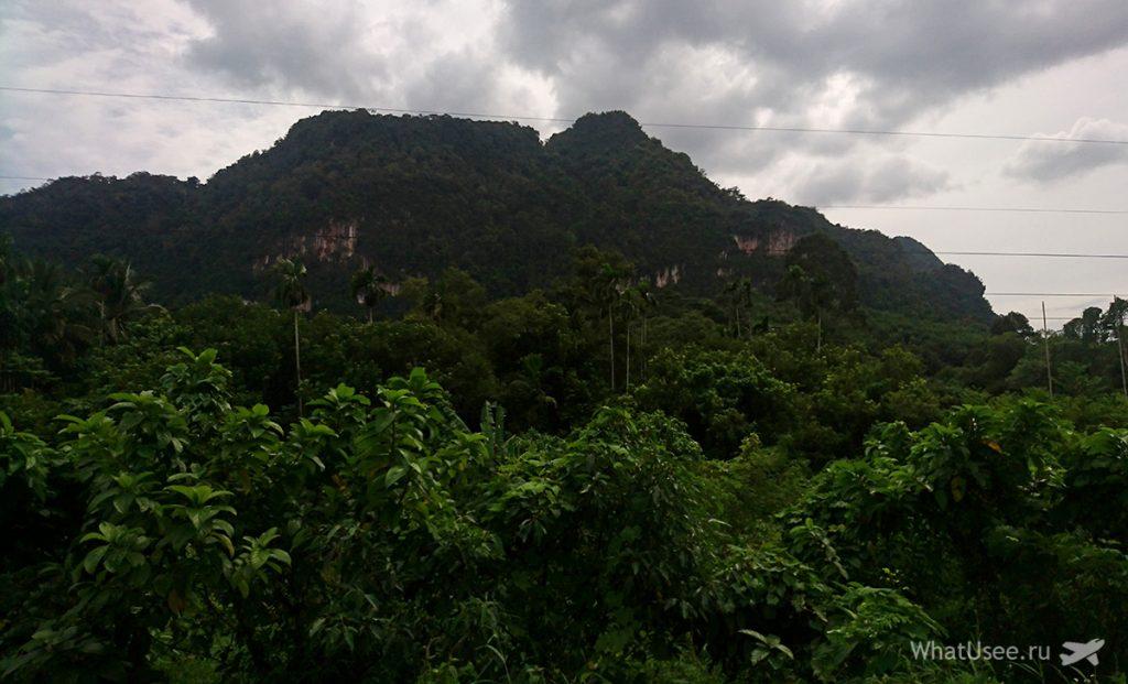 Дорога в национальный парк Као Сок самостоятельно