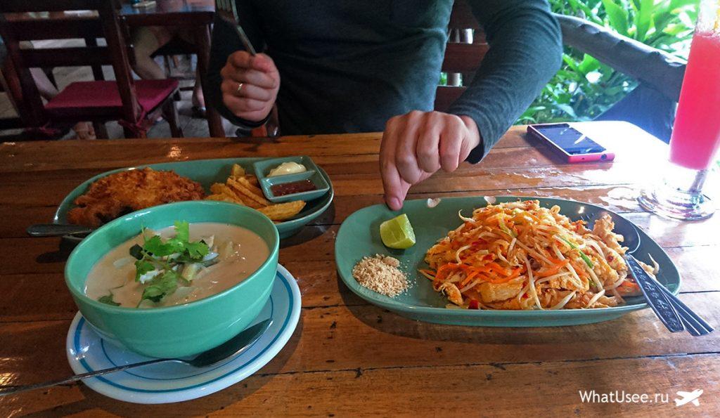 Тайская кухня и национальный парк Као Сок