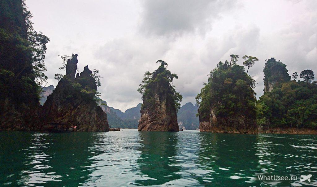 Экскурсия на лодке по озеру Чео Лан
