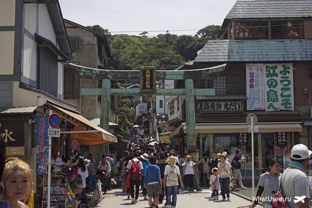Эносима в Японии