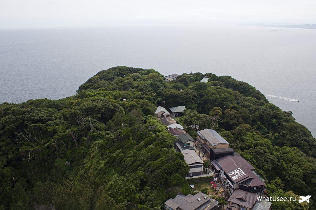 Смотровая башня Sea Candle на острове Эносима