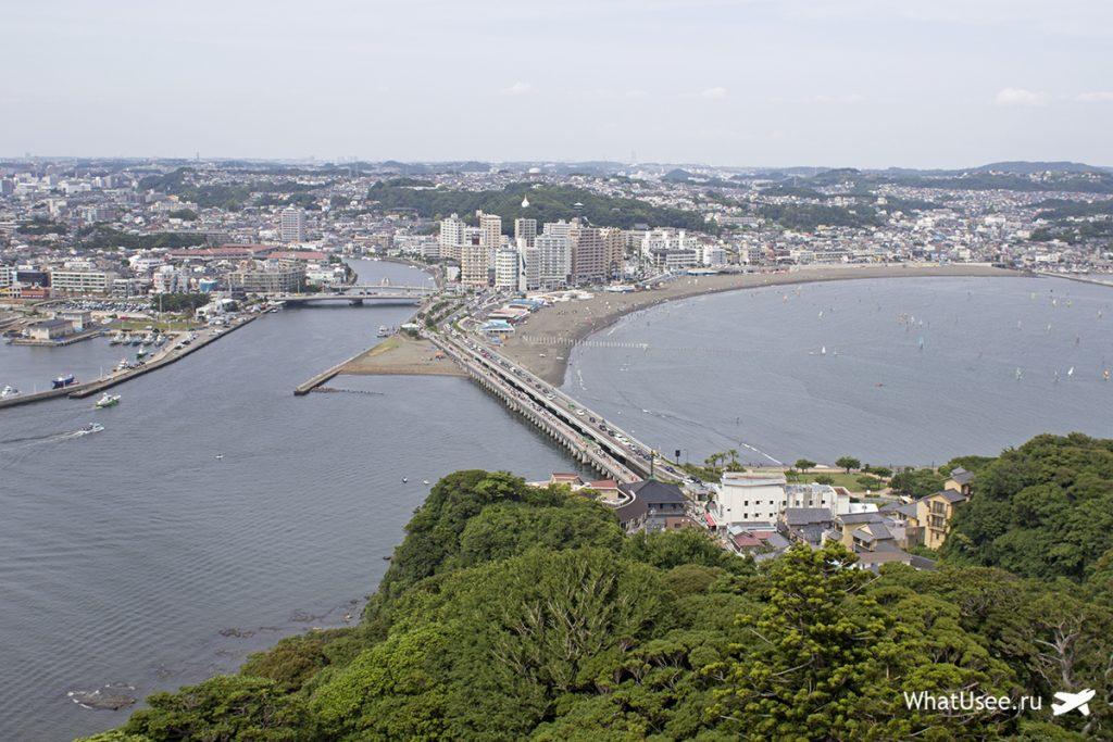 Башня Sea Candle на острове Эносима