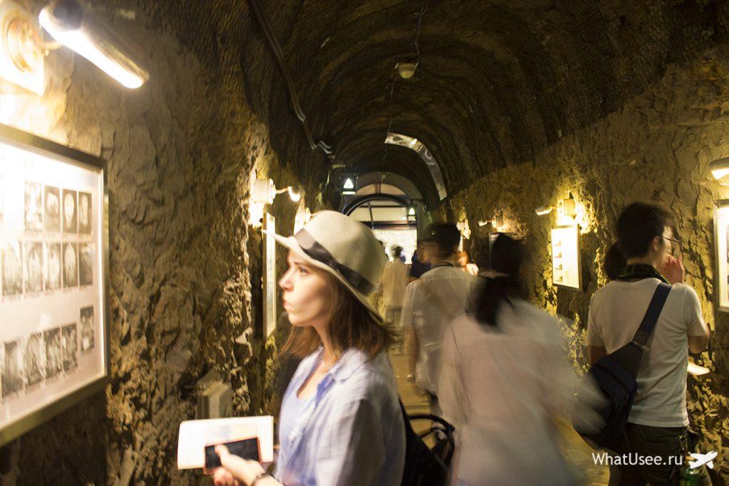 Пещера на острове Эносима