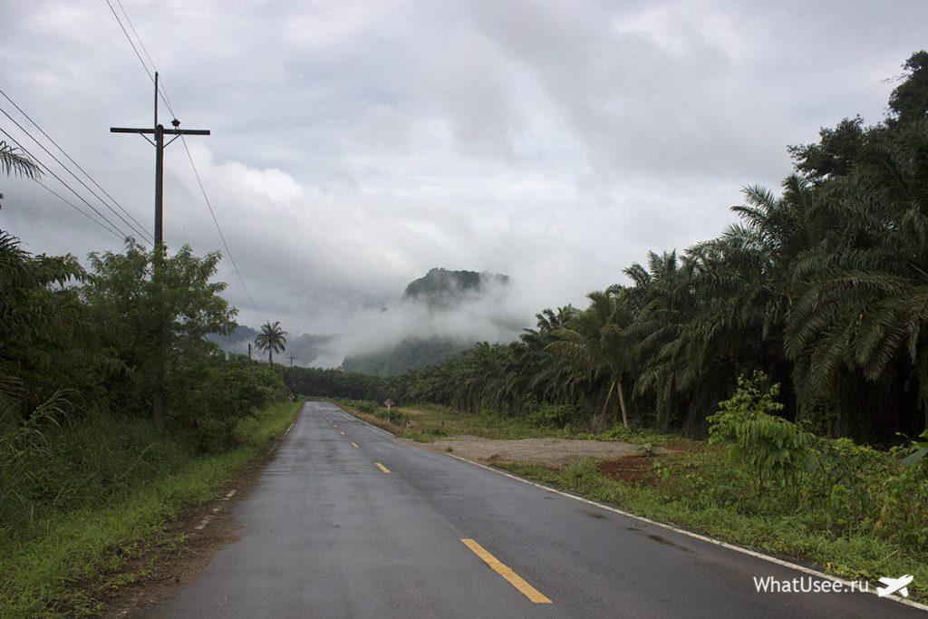 Поездка на скутере в национальный парк Као Сок в Таиланде