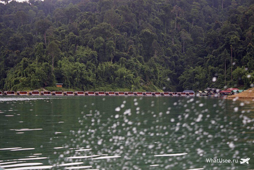 Озеро Чео Лан в Као Соке
