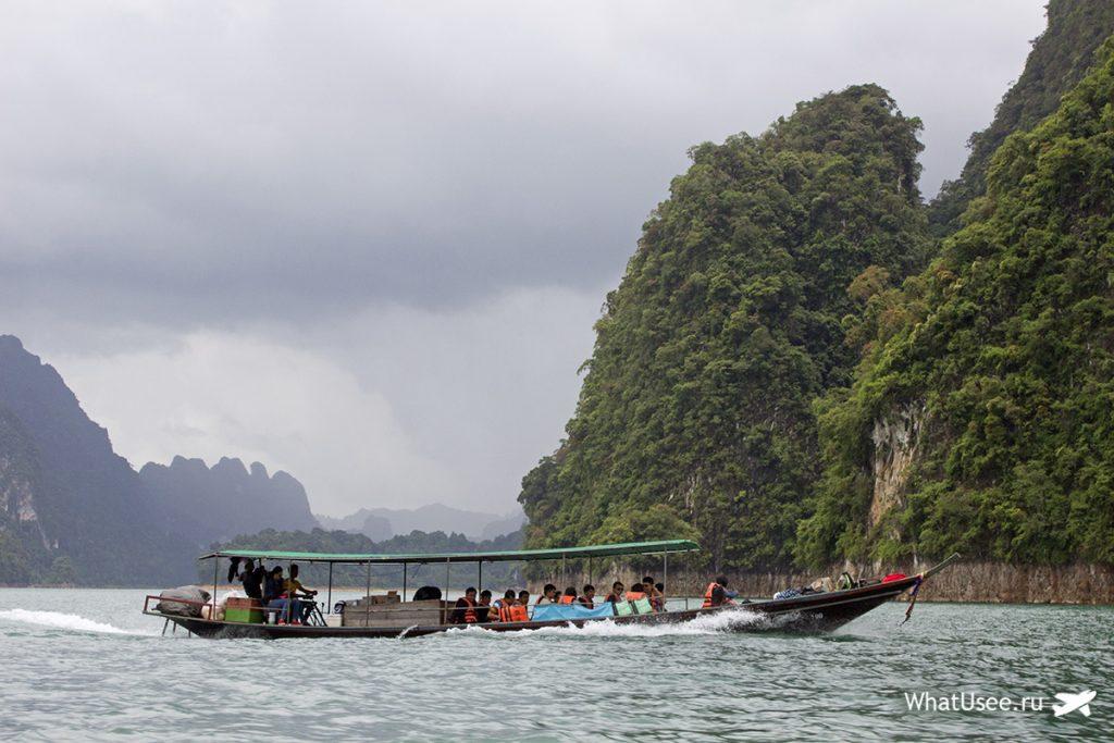 Поездка по озеру Чео Лан в Таиланде