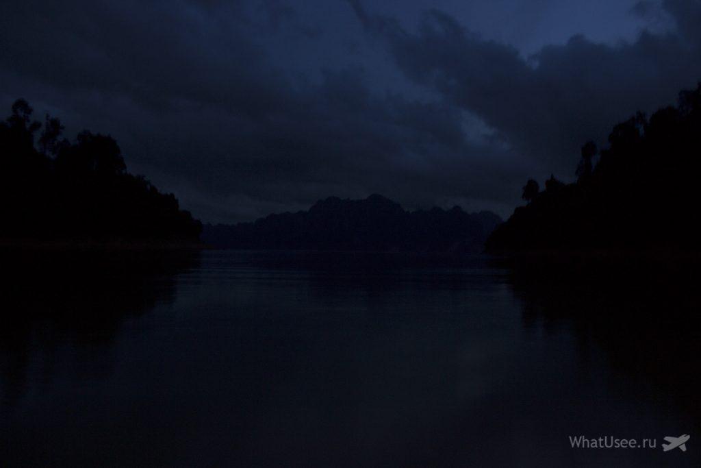 Ночевка на озере Чео Лан