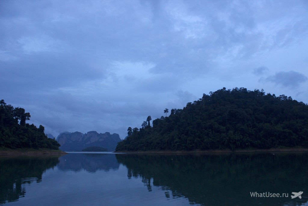 Купание на озере Чео Лан