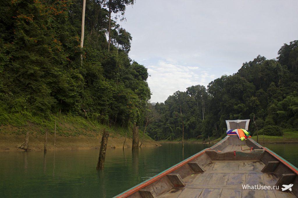 Утреннее сафари на озере Чео Лан в Таиланде