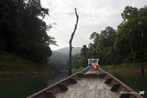 Утренняя экскурсия на озере Чео Лан