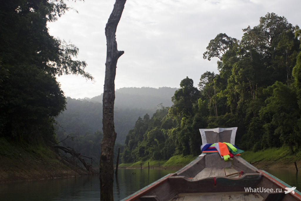 Утренняя экскурсия на озере Чео Лан в Таиланде
