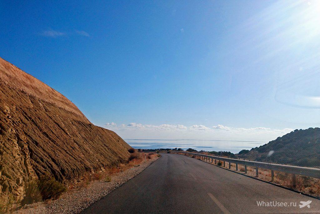Маршрут по Кипру на машине через Карпас