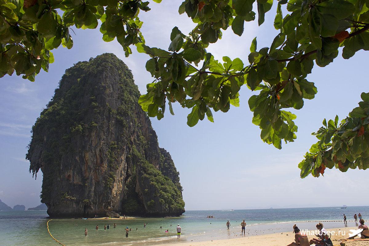 Пляж Пхрананг на полуострове Рейли