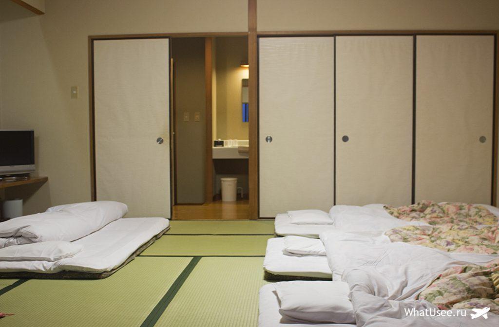 Комната в японском рёкане