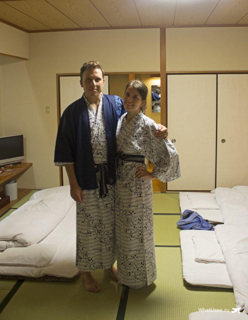 Ночь в рёкане Хаконе