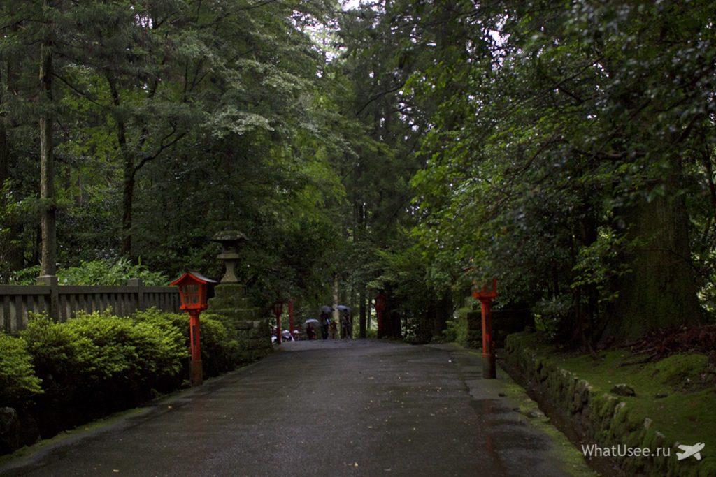 Поездка в Хаконе с ночёвкой