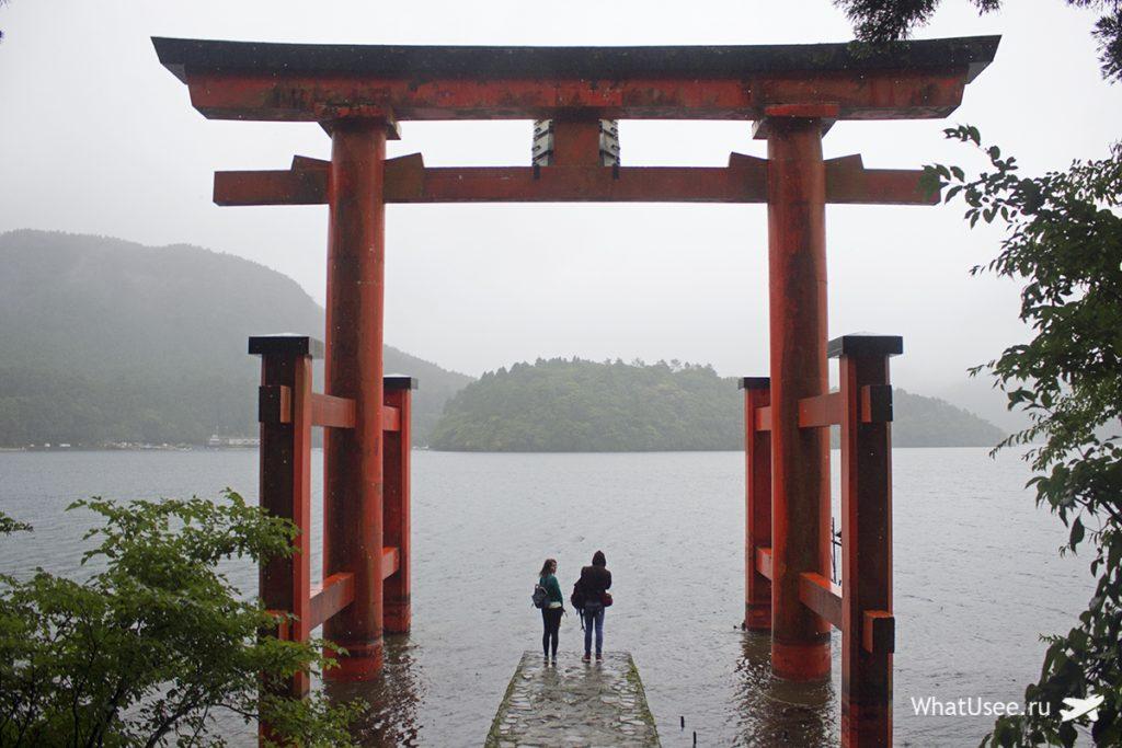 Отчёт о поездке в Хаконе в Японии